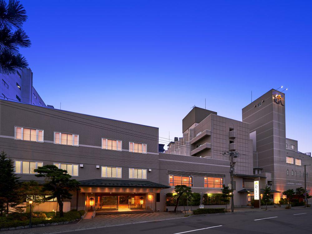 函館 湯の川温泉 花びしホテル