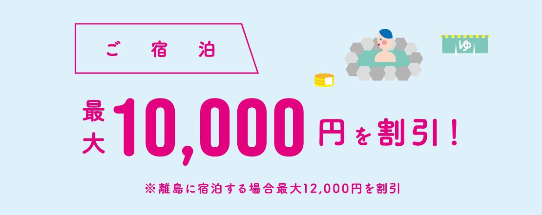 平日二人で10000円!新しい旅のスタイル(どうみん割)でお得に。花びしホテルでゆったり泊まる。