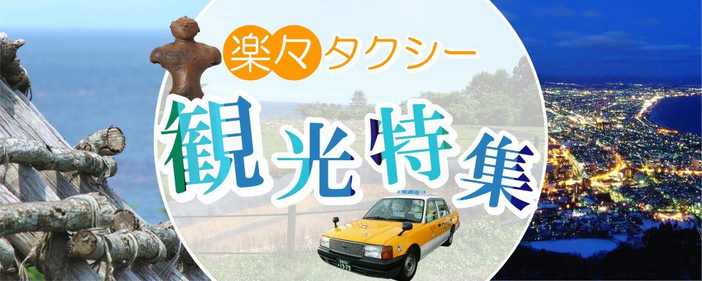 縄文文化の世界遺産と函館山の100万ドルの夜景を満喫♪楽々タクシー観光特集!